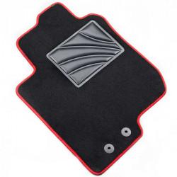 Automatten MDM Plus - Trittschutz aus Teppichboden - schwarze Kanten aus Antirutschbaumwolle