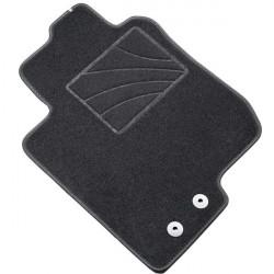 Fussmatten MDM One - Trittschutz aus Teppichboden - schwarze Kanten aus Antirutschbaumwolle