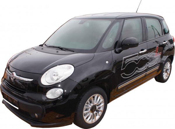 Kofferraumwanne Set für Fiat 500L ab 2012 Fußmatten