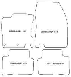 fussmatten nissan qashqai ab personalisierbar. Black Bedroom Furniture Sets. Home Design Ideas
