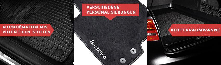 Audi fußmatten mit logo